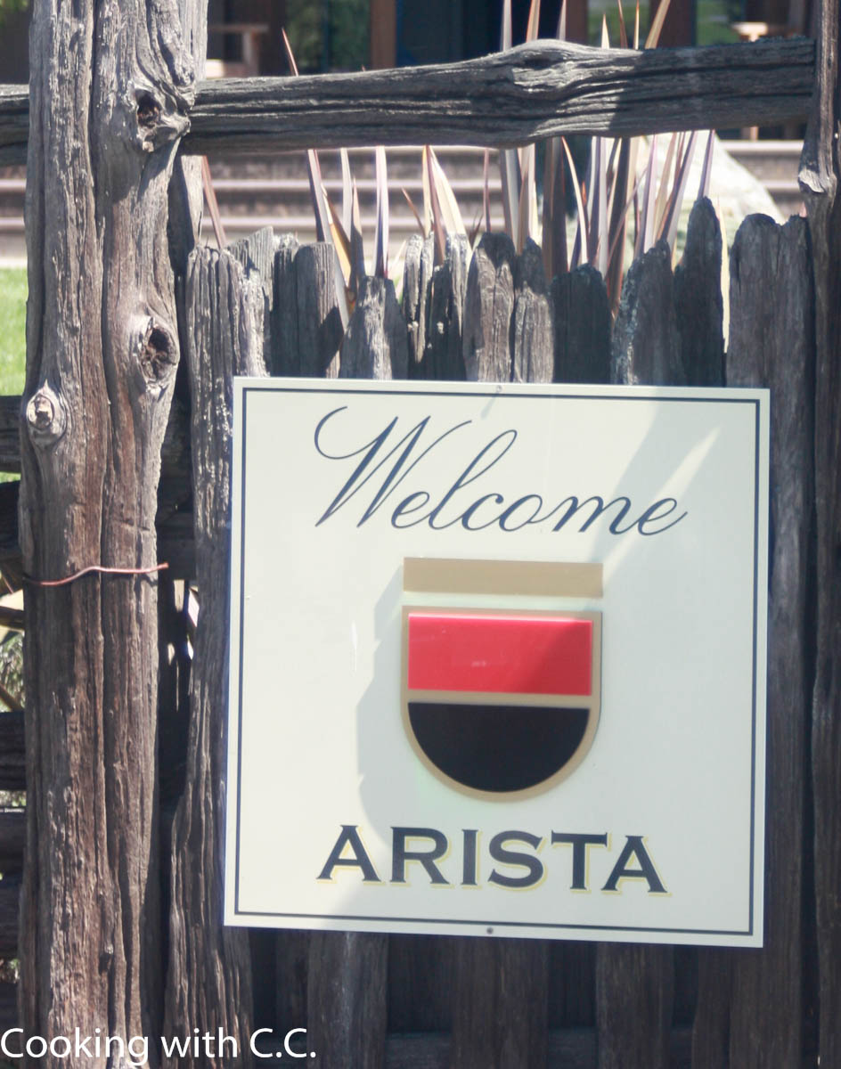 Arista Food & Wine Experience - Cooking With C.C.